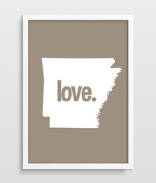 $enCountryForm.capitalKeyWord NZ - Arkansas Typography Print Map Art US States Poster Map Print AR State Print Wedding or Anniversary Gift printed canvas painting