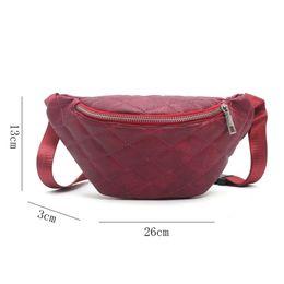 Wholesale Pillow Packs Australia - 2018 Women Waist Bag Belt Bag Fanny Pack Bags For Women 2018 Pu Leather Chest Vintage Small Belt Money Purse