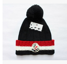 $enCountryForm.capitalKeyWord Canada - Thicked Unisex Warm Winter Knitted Hat Woman Beanies for Ladies with Pom Pom Hat Mixing Color Label Casual Skullies Beanies Cap