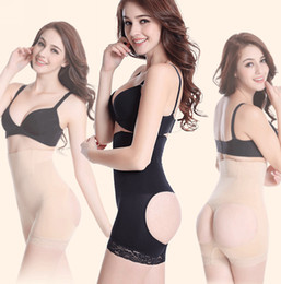 Wholesale High Waist Women Body Shapers Bone Butt Lifter Body Shaper Butt Enhancer Panty Booty Lifter With Tummy Control