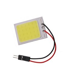 Vehicle side lights online shopping - T10 festoon SMD COB Car Led Vehicle Panel Lamps Auto Interior Reading Lamp Bulb Light Dome Festoon BA9S DC v