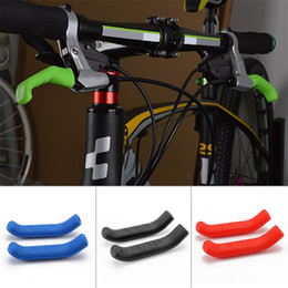 Types levers online shopping - Silicone Brake Handle Lever Protection Cover Universal Type Protector Sleeve For Mountain Road Bike Brakes Covers qt Ww