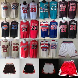 Cheap throwbaCk sports jerseys online shopping - Mens Michael JD Retro Basketball Jerseys Cheap All Star Sports Shorts Michael Clasic white black Red Green Blue S XXXL
