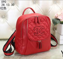 b8c0ad4031ba Designer Bag Charms Canada - Hot Sale backpacks designer 2018 fashion women  lady black red rucksack