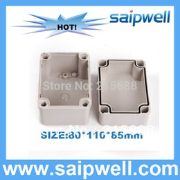 electric enclosures 2019 - 2015 HOT SALE battery case electric conjunction waterproof enclosure ip66 80*110*85MM DS-AG-0811-1 discount electric enc