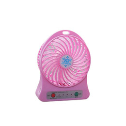 Discount cooling desk for laptop - new arrival Portable Size Rechargeable Cooler Cooling Fan Air Cooler Mini Operated Desk USB Fan for PC Laptop Computer B
