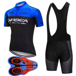 Chinese  2018 ORBEA Cycling jersey mtb bike clothes cycling clothing bicycle sportswear outdoor summer cycling jersey bib shorts Gel pad J101201 manufacturers