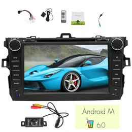 $enCountryForm.capitalKeyWord Canada - EinCar 7'' Quad Core Android 6.0 Car Stereo for Toyota Corolla 2007-2013 in Dash Car DVD Player Capacitive Multi-touch Screen gps Navigation