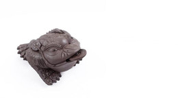 $enCountryForm.capitalKeyWord UK - special price purple clay golden toad Chinese tea pets boutique ornaments tea accessories t53