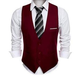 Опт Классический мужской костюм жилет формальное свадебное платье Slim Fit мужчины жилет мужской V воротник жилеты для мужчин многоцветный опционально