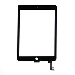 Ipad Mini Touch Screen Assembly Australia - High quality ipad air 2 6 Touch Screen Glass Panel Digitizer with Buttons Adhesive glue Assembly for iPad Air ipad 2 3 4 5 mini 120 pcs