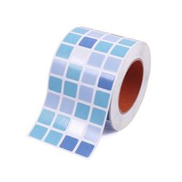 $enCountryForm.capitalKeyWord UK - Waterproof Tiles Mosaic Wall Sticker Kitchen Bathroom Toilet Adhensive Anti Oil PVC Wallpaper Heat Resistance Wall Decor G25