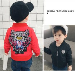 Wholesale New Children Spring autumn Clothing Kids baby boys girls Jacket Coats Active Boy Windbreaker Outerwear Baby Clothes
