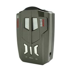 V9 автомобиля радар-детектор 360 градусов автомобиль дальнобойщик скорость Голос оповещения предупреждение 16-полосный авто 12V светодиодный дисплей на Распродаже