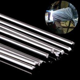 venda por atacado 10 pcs De Metal De Alumínio De Solda De Baixa Temperatura De Solda De Solda De Prata Bras De Haste 1.6mmx45 cm
