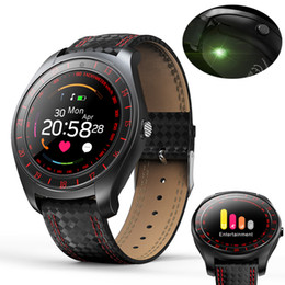 Bluetooth Smart Watch Sim NZ - Smart Watch Men Women Heart Rate Monitor Bluetooth Pedometer Fitness Sports Smartwatch With Camera Support SIM Card For Android