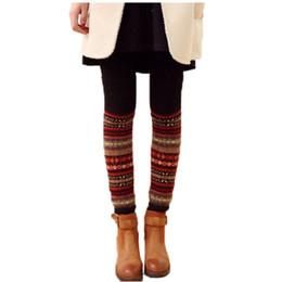 d5306468f Women Winter Long Knit Crochet Fashion Leg Warmers Legging Stocking