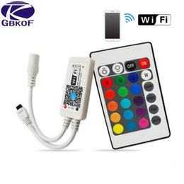 Wireless Touch Rgb Controller Australia - SMD RGB LED Remote Controller switch wireless 24 44Keys Music Touch WiFi led controller For RGB Strip Light 3528 5050 lamps