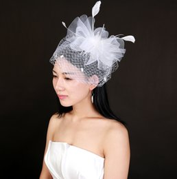 1d8e3df590773 New Arrival Feather Tulle Women Hats For Wedding Party Special Occasion  Formal Ladies Tulle Bridal Feather fascinator