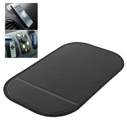 Car Style Cell Phones UK - 1 pcs Car Interior Accessories Magic Anti-Slip Reusable Dashboard Sticky Pad Non-slip Mat Holder For GPS Cell Phone Car Styling