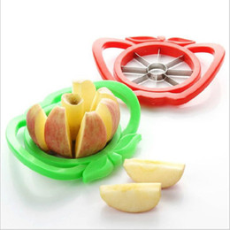 kitchen apple slicers UK - Kitchen Apple Slicer Corer Cutter Pear Fruit Divider Tool Comfort Handle for Kitchen Apple Peeler Tools