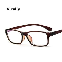 c74e98a217f Fashion Glasses Frames Ultralight Optical Eye Glasses Frame Men Women Eyeglasses  Spectacle Coating Plain Lens Glass Eyewear