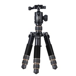 Wholesale foldable light weight and short carbon fiber table mini tripod amp camera kit fold only cm and weight is kg