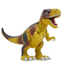 Sonstige Electric Kids Children Toy Walking Dinosaur T-Rex Figure Toy With Light Sound gg