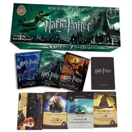 408pcs Set Harry Potter Movie Poker Cards Game Funny Board English Edition Collection Kids Gift Party Favor CCA10265 10set NZ004