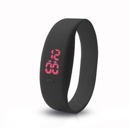 $enCountryForm.capitalKeyWord UK - 2018 New LED Casual Sports Fashion Watch Men Bracelet Children Student mini Electronic Unisex Watch gift Promotion Dropshipping