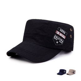 $enCountryForm.capitalKeyWord Canada - 2018 Ball Cap Black Khaki Rushed New Vintage Flat-top Canvas Baseball Cap Casual Color Block Unisex Hat Women Men Hats Letter Adjustable