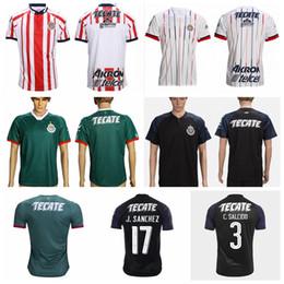 25314d2beac 2018 2019 CD Chivas Guadalajara Jersey Men Soccer 20 PIZARRO 10 LOPEZ 14  ZALDIVAR 9 PULIDO 11 BRIZUELA Football Shirt Kit Team