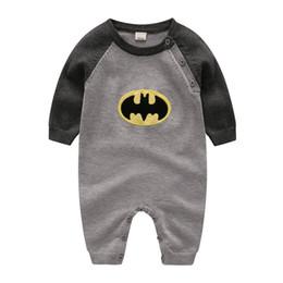 352264fd8b53 3-24 Mongths Newborn Baby boy Wool Blend Baby Romper Warm Knit Sweater Long  Sleeve Rompers Fall Autumn