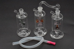 China High quality mini glass oi rigs New Unique Glass Bongs Glass Pipes Water Pipes Hookah Oil Rigs Smoking with 10mm oil burner pipe and hose supplier quality hose suppliers