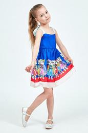 0e60d775b7b7 Vestito da modello del gatto di principessa delle ragazze del bambino del  vestito da estate a strisce dei vestiti brandnew dei bambini Trasporto  libero