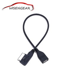 Discount interface adapter audi a4 Car Cable Music Interface AMI MMI MDI To Jack USB Charger Cable Adapter For Audi A3 A4 A5 A6 A8 Q5 Q7 Q8 For VW MK5 C 5