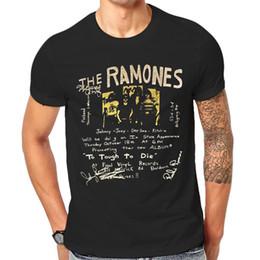 $enCountryForm.capitalKeyWord Canada - Ramones T Shirt Vintage Classic Rock Band New Graphic Print Tee Shirts 1-A-005 O-Neck Teenage T-Shirts