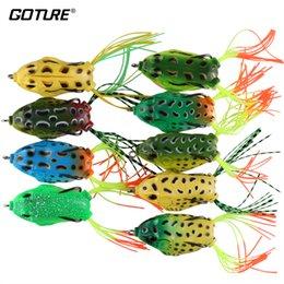 $enCountryForm.capitalKeyWord Australia - Goture 18pcs 5.5cm 12.5g Silicone Bait Soft Fishing Topwater Wobblers Artificial Bait Frog Lure