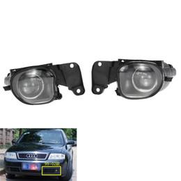 $enCountryForm.capitalKeyWord Australia - For Audi A6 C5 1998-2001 Auto Fog Light Lamp Car Front Bumper Grille Driving Lamps Fog Lights Set Kit 4B0941699A  4B0941700A