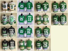 Hartford Whalers 10 Ron Francis Jersey 11 Kevin Dineen 16 Patrick Verbeek  26 Ray Ferraro 5 Ulf Samuelsson 1 Mike Liut 9 Gordie Howe Tippett aba90b16a
