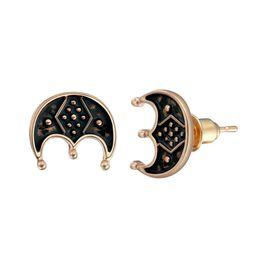 $enCountryForm.capitalKeyWord UK - 10 pairs lot Small Three-legged Lunula Studs Earrings Scandinavian Norse Viking Handmade Star Ethnic Pagan Jewelry For Men Male