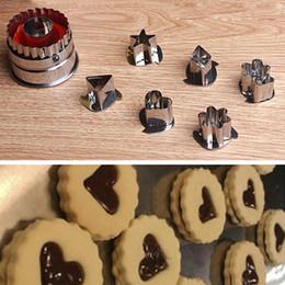 7 UNIDS galletas de la torta de la cocina que cortan el cortador de los pasteles del vehículo de la fruta que corta el molde del molde que cocina las herramientas del molde sugarcraft del cortador bakeware en venta