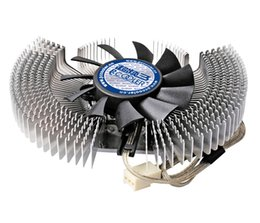 Wholesale Pccooler K60 aluminum cm mm fan Multiporous graphics card heatsink for VGA fan Cooling graphics Cooler radiator