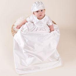 Мальчики 2 Шт. Крестины Наряд Белый Крещение Крестины Костюм Новорожденных Хлопок Одежда Набор Белый Проверить