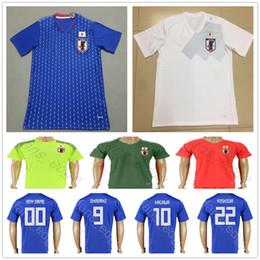 934c43dda6b Blank soccer jersey green online shopping - 2018 Japan Football Jersey  OKAZAKI KAGAWA HASEBE MORISHIGE KIYOTAKE