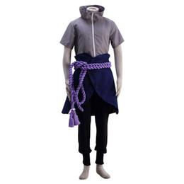 Chinese  Naruto Cosplay Hyuga Uchiha Sasuke The 6th Suit costume outfit uniform manufacturers