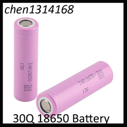 $enCountryForm.capitalKeyWord Australia - 18650 Rechargeable Battery 30Q 3000mah High Drain Cell With Lithium Batteries MSDS Report Free Shipping 0269008-1
