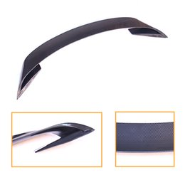 Cars ford gt online shopping - GT Style Carbon Fiber Rear wing Carbon Fiber CAR REAR WING TRUNK LIP SPOILER FOR Ford Mustang up GT