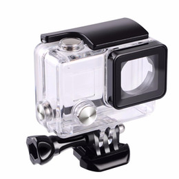 Chinese  Suptig For Gopro Waterproof Housing Case For Gopro hero 4 Hero3+Hero 3 Underwater Protective Box For Go pro Accessories manufacturers