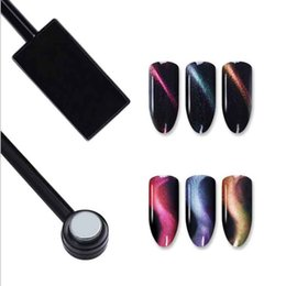 Wholesale 3D Magical Effect Strong Magnet Cat Eyes Magnetic Pen Drawing Stick for Cat Eye Nail Gel Polish Magnet Tools